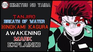 Tanjirō Dance Of The Fire God And Awakening Mark Explained | Kimetsu No Yaiba