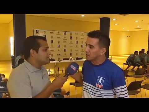 RE 'AO VIVO' - Apresentação dos jogadores do Fast Clube - Copa São Paulo de Futebol Júnior