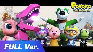 Pororo Movie - Pororo Heroes VS. Pink Dino Kong(Full ver.) | Pororo Avengers will help you!!