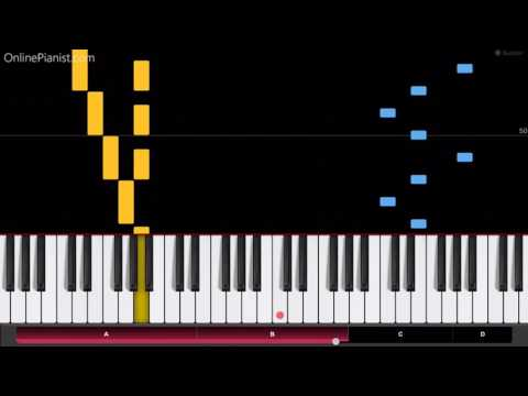 Edvard Grieg  In the Hall of the Mountain King Peer Gynt  Piano Tutorial