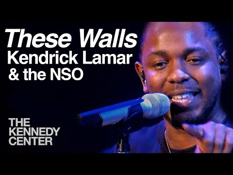 """Kendrick Lamar and the National Symphony Orchestra - """"These Walls"""""""