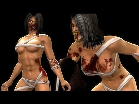 Mortal Kombat Komplete Mods NPC Fatalities On Mileena