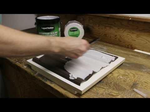 Metal Roof Repair with Liquid Rubber