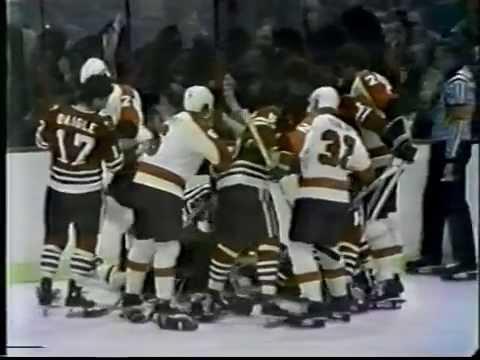 Old Philadelphia Flyers Fights