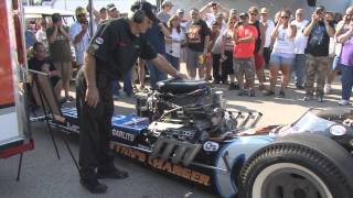 Don Garlits Warms Up Swamp Rat 12- A
