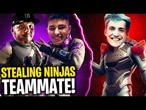 I STOLE NINJA'S WORLD CUP TEAMMATE!! W/ NINJA, MARCEL & REVERSE2K - Fortnite Battle Royale