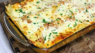 Easy Meat and Cheese Lasagna