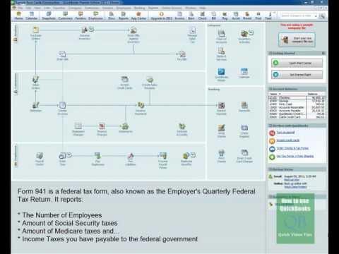 QuickBooks 941 Feature: Creates Tax Form 941 Fast - Video