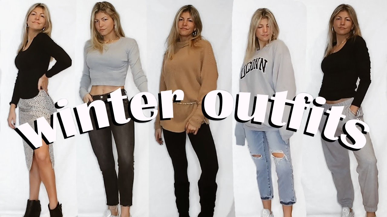 [VIDEO] - WINTER OUTFIT IDEAS: simple & affordable! 3