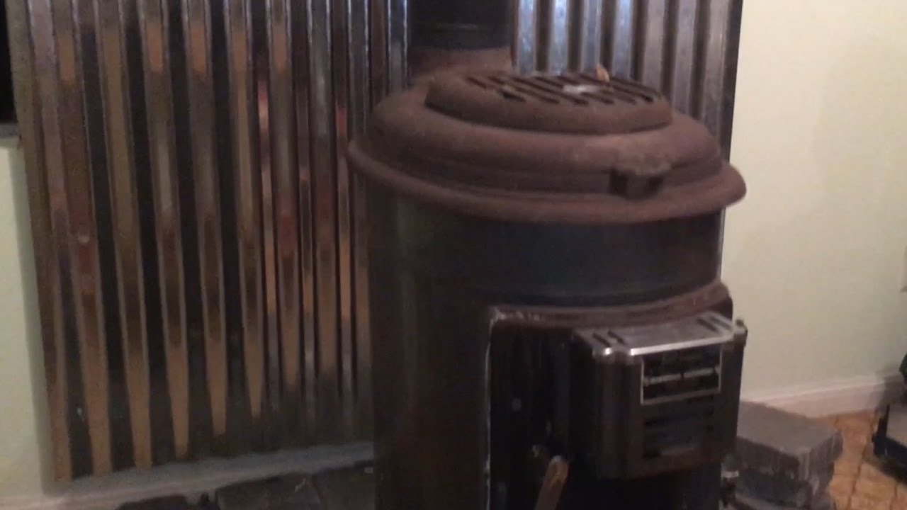 Heat Shield For The Cabin's Old Wood Stove - Heat Shield For The Cabin's Old Wood Stove - YouTube