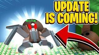 ATUALIZAÇÃO está chegando novo campo de coco + caranguejo de coco e muito mais em Roblox Bee Swarm Simulator