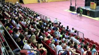 Body Percussion 600 People Cameron Tummel WSAG 2011.mov