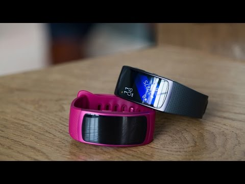 Samsung Gear Fit 2 first look