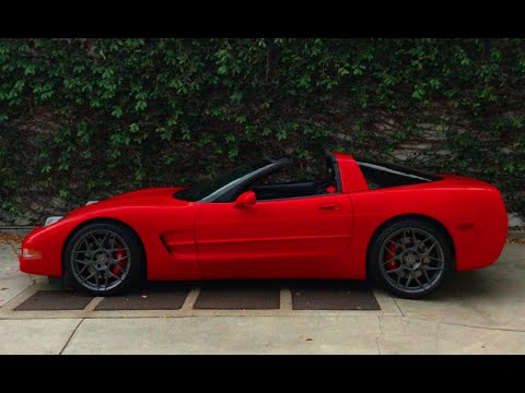 50Th Anniversary Corvette >> Matt's C5 Corvette - New Wheels - One Take - YouTube
