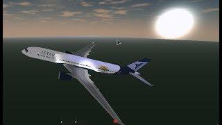 Roblox JetAU A350 o pouso real!