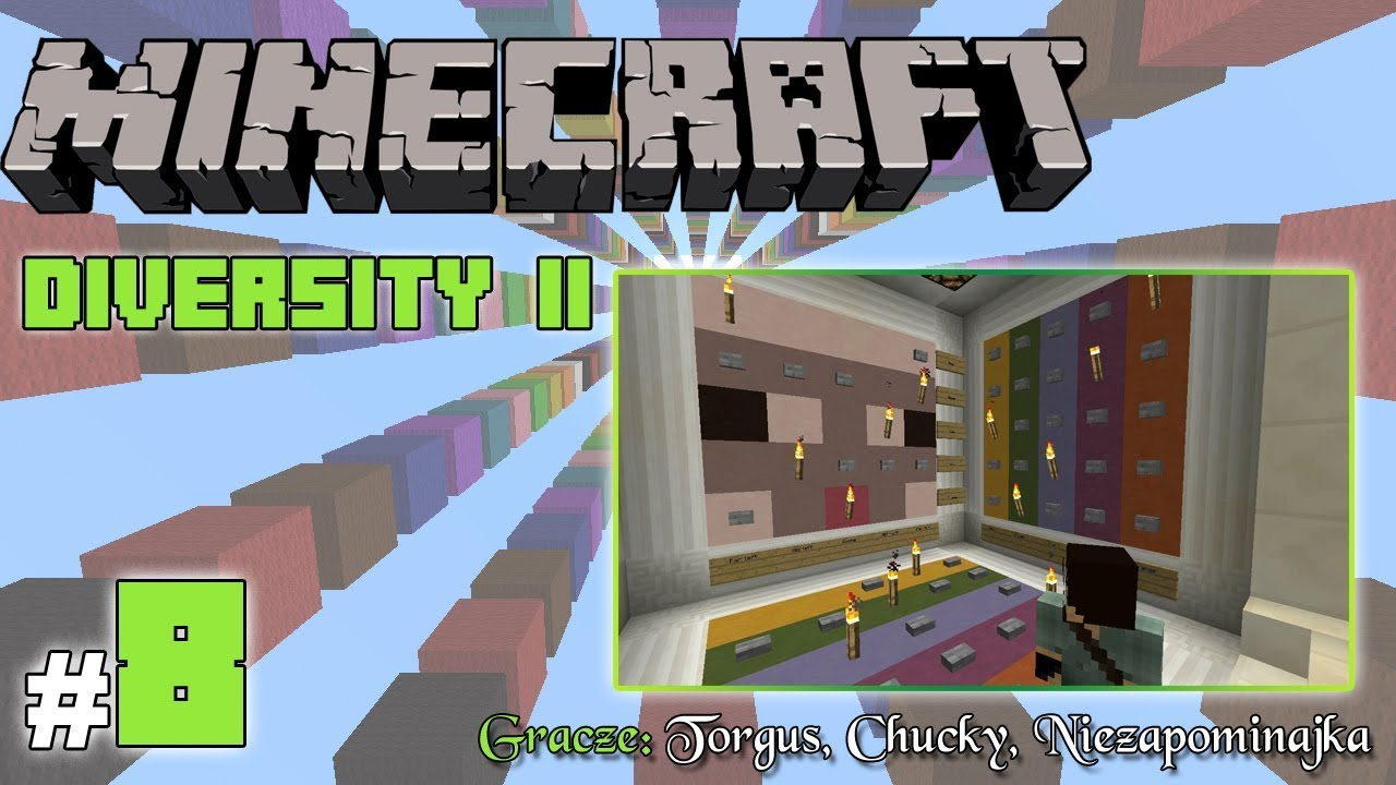 "Minecraft Escape: Diversity II z Torgus/Chucky! [8/x] – ""Puzzle i owce"""