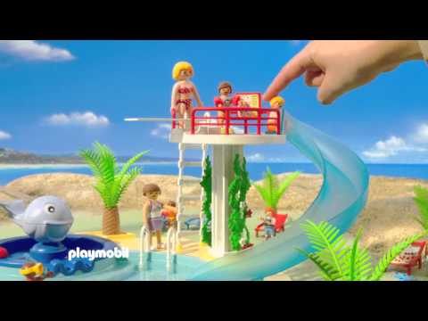Playmobil funnydog tv for Piscine playmobil