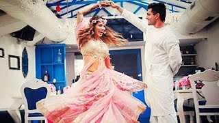 (Video) Bipasha Basu & Karan DANCES At Mehendi Ceremony