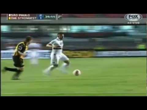 Gol de Luis Fabiano Sao Paulo 2x1 The Strongest Libertadores 2013