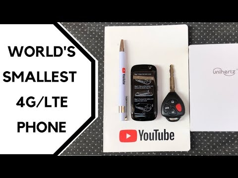 World's Smallest 4G/LTE Smartphone - Unihertz Jelly Pro Review