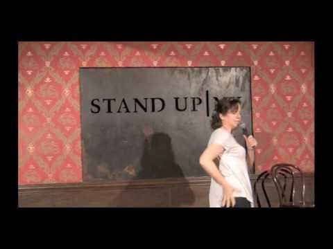 Patty Rosborough at StandUp NY