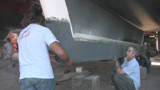 How To Fit Keel Shoes To A Sailing Catamaran