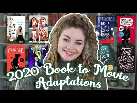 Book To Movie/TV Adaptions Coming Out In 2020!