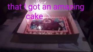 Bday cake (the best bday cake ever)