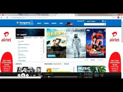 how to earn money by listening songs on hungama.com