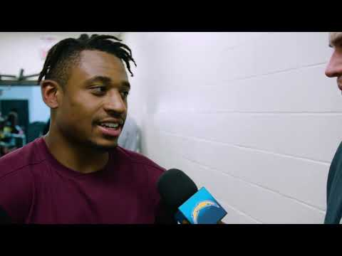 Justin Jackson on His First NFL Touchdown