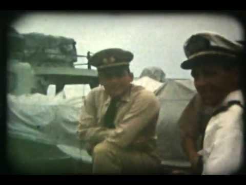 1960's VENEZUELAN NAVY SHIPS 8mm FILM