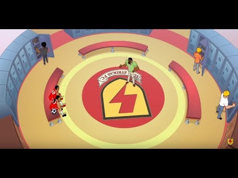 Supa Strikas - Season 2 - Ep 15 - Training Trap - Soccer Adventure Series