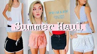 TRY ON SUMMER HAUL | Primark, Boohoo, Nike...