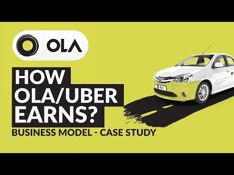 Ola Business Model | Case Study | How Ola Uber Earns | Incentives | 6Rs Km