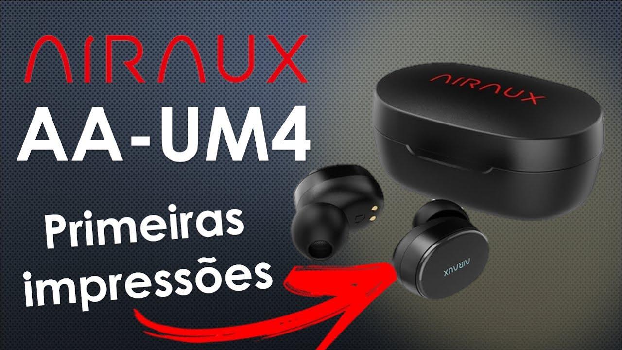 Fone BlitzWolf Airaux AA-UM4 - Unboxing e Primeiras impressões