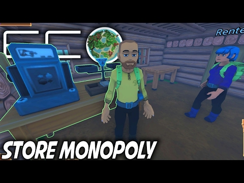 Eco | Store Monopoly & Kage Imprisoned | Let's Play Eco Gameplay | S01E14