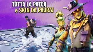 I'M GOING TO TRY THE WHOLE PATCH! DISCOVER HALLOWEEN SKIN! Fortnite Australia