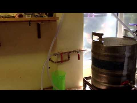 Fowler's Homebrew beer, gas process.