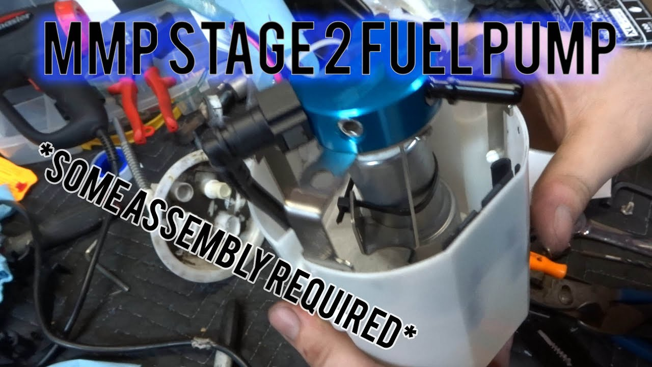 335i Stage 2 Fuel Pump Install!