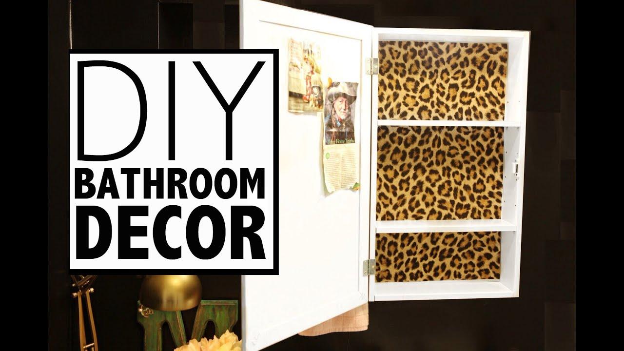 95+ [ Leopard Bathroom Set ] | Diy Bathroom Decor Wallpaper Medicine ...