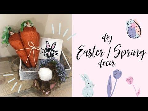 DIY Easter / Spring Decor   quick & easy