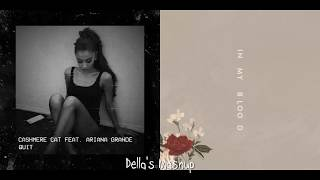 Quit In My Blood - Shawn Mendes, Ariana Grande, Cashmere Cat (Mixed Mashup!)