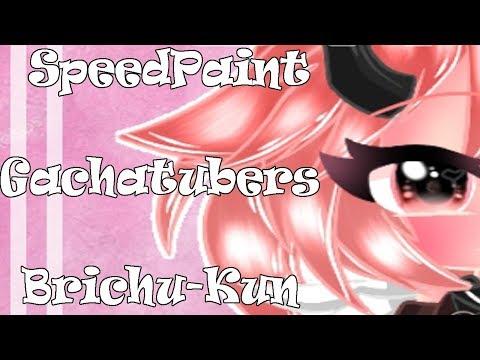 //SpeedPaint ღ Brichu-kun ღ//Edits Gachatubers #2~NiniEDM