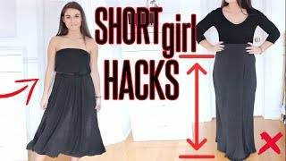 8 CLOTHING HACKS EVERY SHORT GIRL MUST KNOW !
