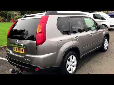Nissan X-Trail 2.0 dCi Aventura Explorer Extreme SUV Diesel Manual Sat Nav Reverse Camera £6595