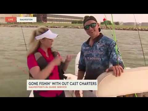 BIG CATCH | Fishing With Out Cast Charters In Galveston