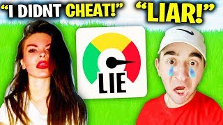 Lie Detector TEST On Ex Girlfriend.. (Fortnite)
