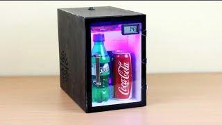 MINI KÜHLSCHRANK SELBER BAUEN!!! (How to make a fridge at home)