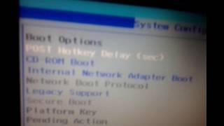 Laptop Hp  Biosull  Settings Bootable Windows-Xp,7...