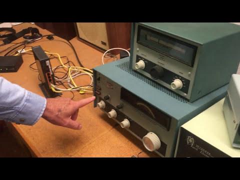 My Grandfather's Ham Radio Setup